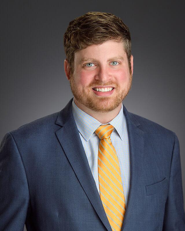 Portrait of Aaron Stratman